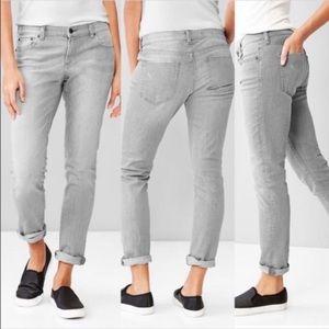 Gap | Girlfriend Jeans Distressed Ash Gray Sz 31
